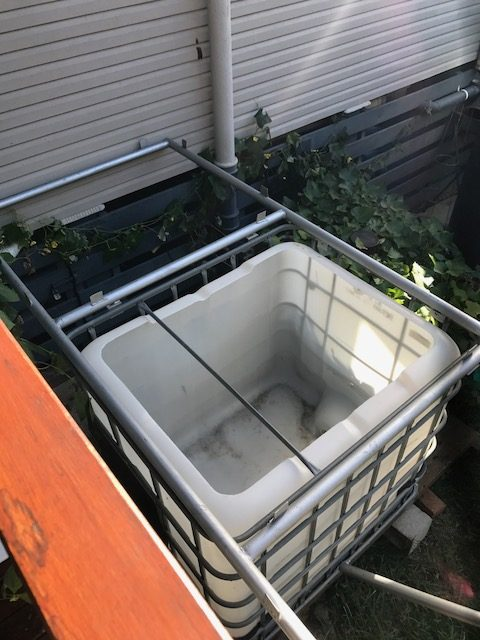 New Grow bed frames for aquaponics